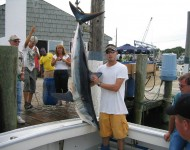 My catch on the Weejack boat